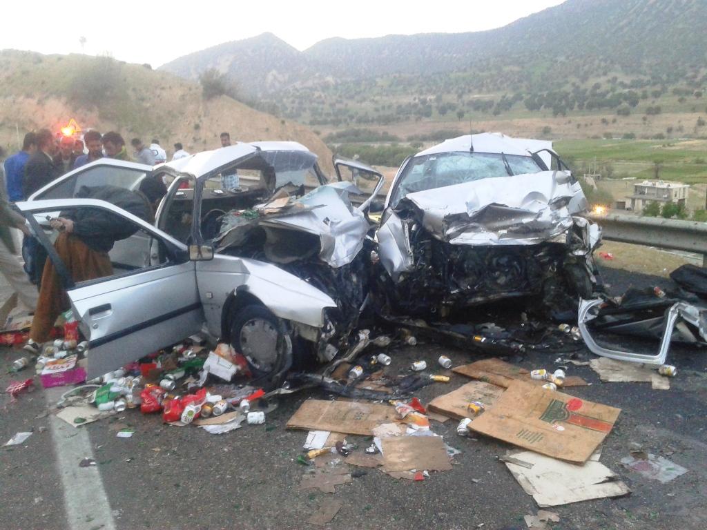 تصادف در محور یاسوج به اصفهان