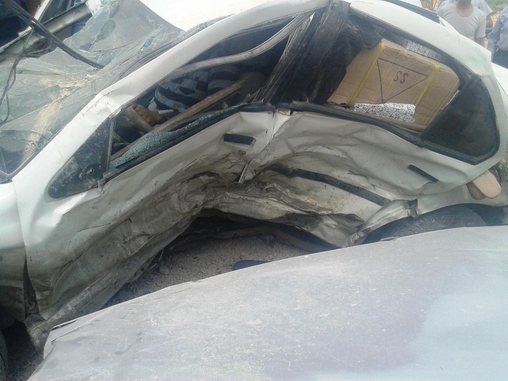 تصادف دیروز اصفهان گزدون
